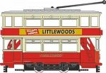 NTR008 Oxford Diecast Tram London Transport